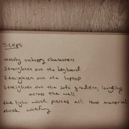 Poetry, Julius Ferraro, steps, juliuswrites