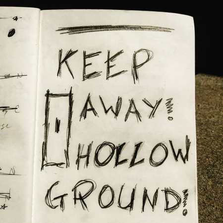 keep away! hollow ground!, julius ferraro, poetry